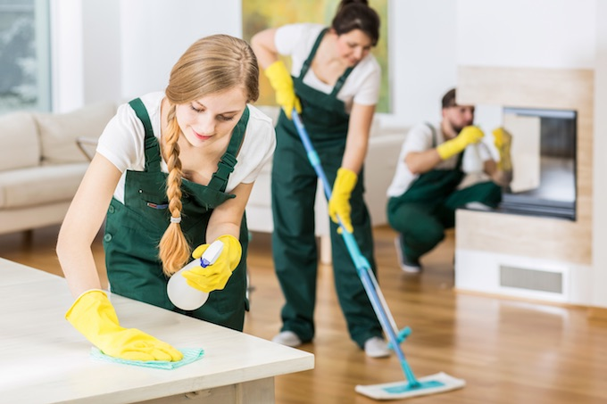 house cleaners in Las Vegas, NV